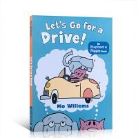 【全店300减110】【88选5】现货包邮 英文进口原版图画书 小猪小象系列 Let's Go for a Drive!