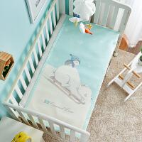 幼儿园夏季午睡专用凉垫透气新生婴儿床冰丝席子儿童凉席