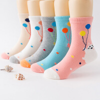 女童袜子春秋冬中筒袜3-5-7-9-12岁中大童儿童学生花边公主袜