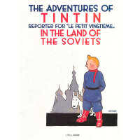 The Adventures of Tintin: Tintin in the Land of the Sovi 丁丁历险记:丁丁在苏维埃 ISBN 9780316003742