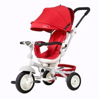 儿童三轮车脚踏车1-3-6岁婴儿手推车宝宝自行车小孩童车YW07