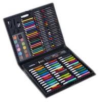 儿童绘画文具套装水彩笔蜡笔绘画笔工具美术画画铅笔*盒装