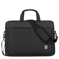 联想戴尔华硕14寸15寸15.6寸男女士单肩手提笔记本电脑包防水包