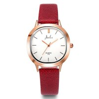 新款韩版潮流时尚男士手表简约情侣表皮带女表学生表石英表时装表