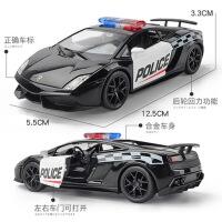 合金车模玩具车男孩小汽车模型仿真回力赛车兰博基尼玛莎拉蒂跑车