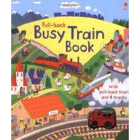 Pull-back Busy Train轨道游戏书:忙碌的火车