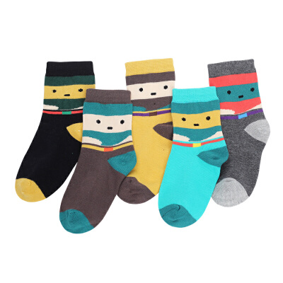 彩桥童袜儿童棉袜男童女童袜子春秋款儿童袜子中大童袜子