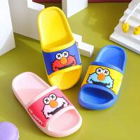 泰蜜熊一体成型pvc夏季卡通儿童拖鞋室内防滑浴室洗澡家居外穿儿童拖鞋软底透气
