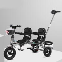 三轮推车双胞胎三轮车儿童双人座脚踏车双胞胎婴儿推车1-7岁宝宝车LYZT60