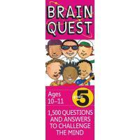 现货 英文原版Brain Quest Grade 5 PK益智调整阅读1500问