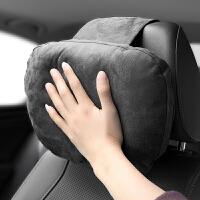 车载麂皮枕汽车用护颈枕迈巴赫靠枕创意枕头奔驰车内用品
