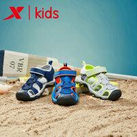 【特步限时直降】特步新品童鞋儿童凉鞋中大童软底包头凉鞋小男童凉鞋681215509253
