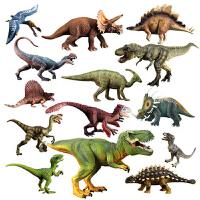 仿真恐龙模型玩具玩模乐侏罗纪大号霸王龙暴龙三角龙仿真动物套装