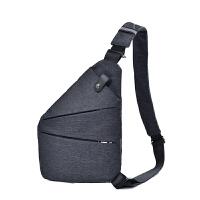 男士胸包单肩斜挎运动背包多功能贴身防盗收纳枪休闲潮女小包
