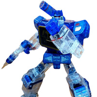 变形金刚声波磁带 变形玩具金刚5 霸天虎MP-13声波带磁带音波机器狗模型4