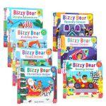 现货 英文原版进口 Bizzy Bear 小熊很忙系列7册纸板机关操作书 Pirate Adventure! /Pla
