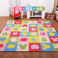 泡沫地垫拼图儿童爬行垫加厚卧室卡通拼接榻榻米地毯家用地板垫子T