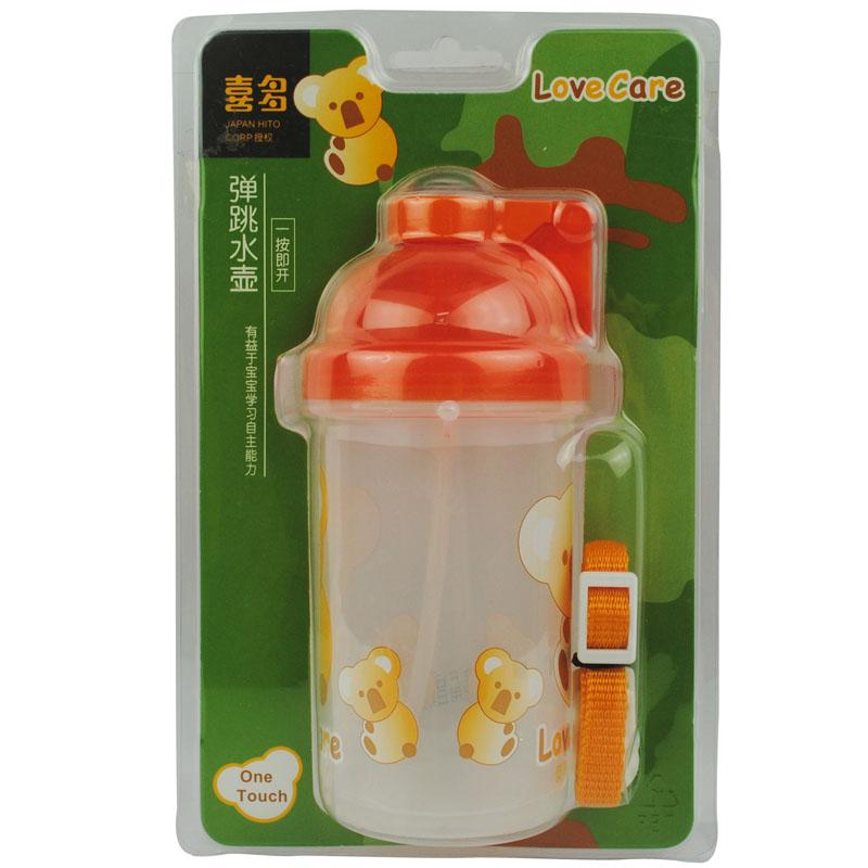 【当当自营】喜多 弹跳水壶420ml 水壶/水杯/吸管杯