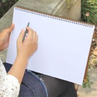 复古A4空白素描本8K速写本8开绘画涂鸦本画画本记事笔记本日记本