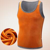 加绒加厚保暖背心男士女式打底修身棉马甲运动坎肩紧身内衣秋冬季