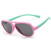 儿童眼镜墨镜中大童太阳镜偏光防紫外线舒适男女童蛤蟆镜小孩