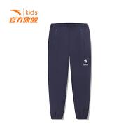 安踏童装男童针织长裤儿童运动裤休闲裤子35917531