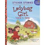 Sticker Stories: Ladybug Girl Visits the Farm 瓢虫女孩去农场 97804