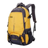 户外双肩包大容量旅行背包休闲男女通用防水尼龙背包高中学生书包