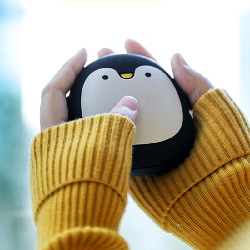 暖手宝 冬季保暖移动暖手宝移动电源USB情侣暖手蛋暖宝宝便携卡通电暖宝 卡通可爱  便携小巧