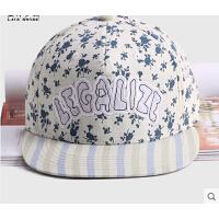 时尚潮流帽子男女士遮阳帽户外女士棒球帽 嘻哈帽 平沿韩版街舞帽子
