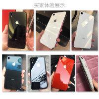 苹果xr手机壳钢化玻璃iphone网红ipxr镜面iponexr潮牌潮男ixr女款新iphonexr --------