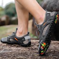 夏季溯溪鞋男士两栖涉水鞋户外防滑徒步登山透气网鞋大码