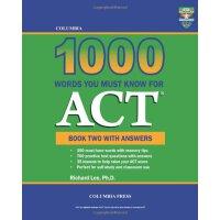 【预订】Columbia 1000 Words You Must Know for ACT: Book Two with
