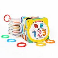婴幼儿童早教书识字卡片宝宝0-3岁玩具数字认知卡撕不烂画册套c 24册全套早教卡 (礼盒装)