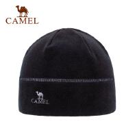 骆驼户外抓绒帽潮包头帽休闲冬季护耳套头帽男女帽子