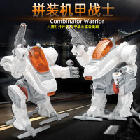 DIY玩具机甲战士小制作机器人男生科技小发明儿童科学实验小学生