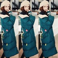 羽绒服女中长款2018新款潮冬季韩版宽松修身显瘦时尚保暖外套女