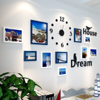 房间3d立体墙贴背景墙面自粘相框墙纸贴画儿童装饰品 特大