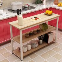 置物架客厅厨房多层杂物家用储物架 家用收纳架落地层架微波炉架储物操作台
