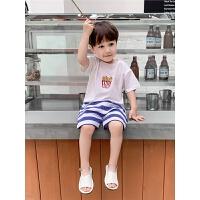 婴儿短袖T恤夏装男童装儿童宝宝半袖打底衫上衣