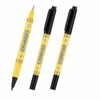 金万年09860小双头记号笔 水性细标记笔 勾线笔 货运用笔 10支/盒