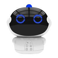 早教智能机器人儿童故事机高科技玩具陪伴男女孩学习教育c 【白色】wifi高配版 +16G内存卡+话筒
