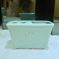 欧式陶瓷卫浴五件套装浴室卫生间用品洗漱套件牙刷架套件新品
