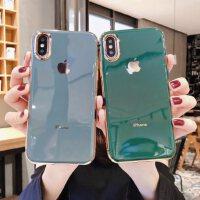 奶奶灰苹果X手机壳iPhoneX纯色电镀iPhoneXR超薄XR硅胶XS绿色MAX软壳iPhoneXS男女防摔XMAX网