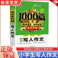 开心教育 新1000篇 小学生写人作文 小学三年级四五六年级语文同步作文书辅导教辅大全3-4-5-6年级上册下册写人作
