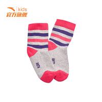 【3折价7.5】安踏童装男童女童袜子保暖儿童袜子毛圈长袜39748305