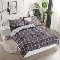 床笠四件套全棉席梦思保护套床垫罩床上用品床笠式床单床套三件套定制
