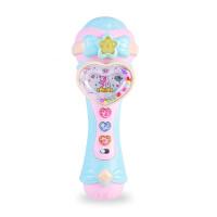 儿童动感麦克风玩具 发光音乐唱歌爱好启蒙宝宝男孩女孩音乐玩具