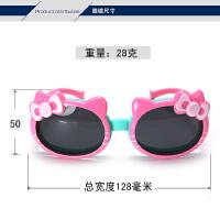 儿童太阳镜防紫外线宝宝墨镜蝴蝶公主偏光眼镜女童潮