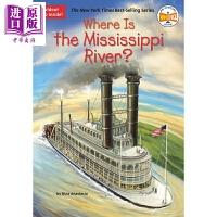 【中商原版】Where is the Mississippi River 哪里是密西西比河 Where is系列 儿童历